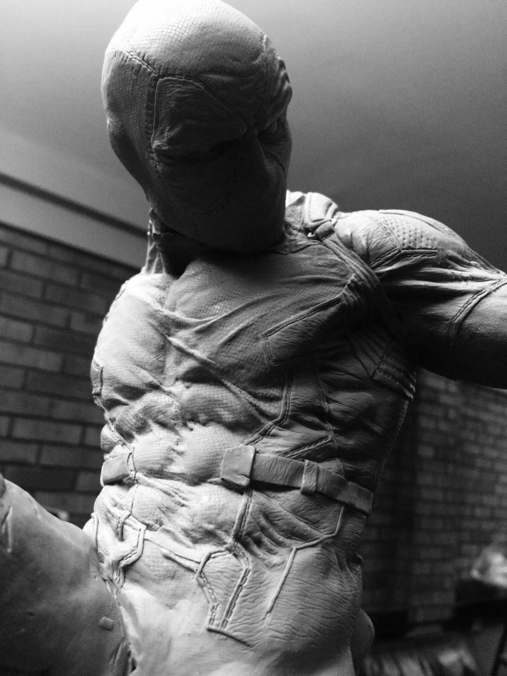 DEADPOOL  Art factory 1/4 scale statue Deadpo12