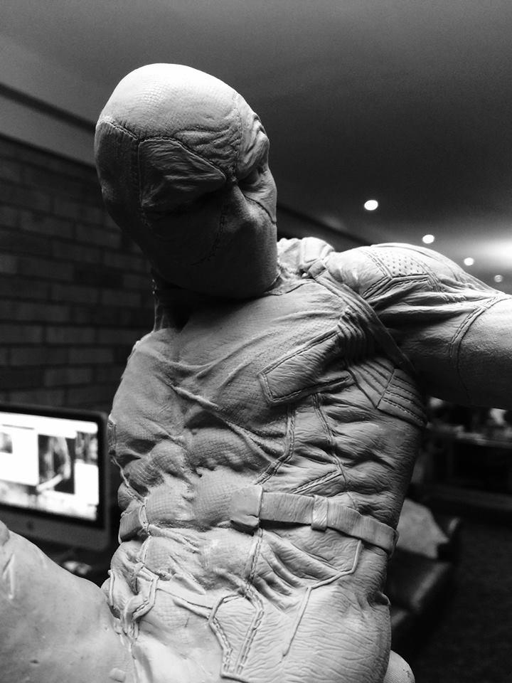 DEADPOOL  Art factory 1/4 scale statue Deadpo13