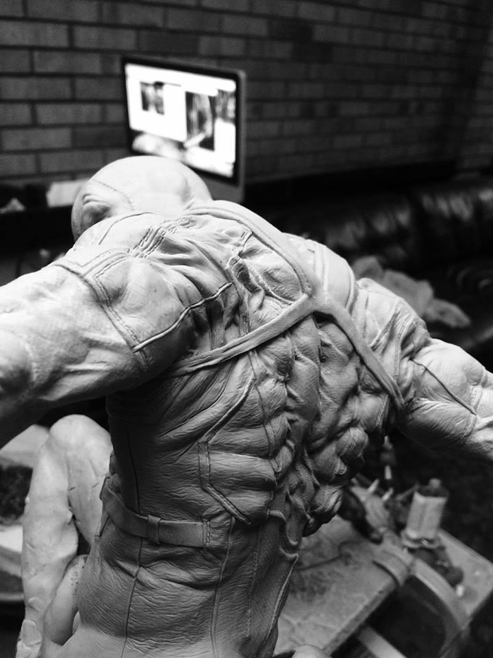 DEADPOOL  Art factory 1/4 scale statue Deadpo15
