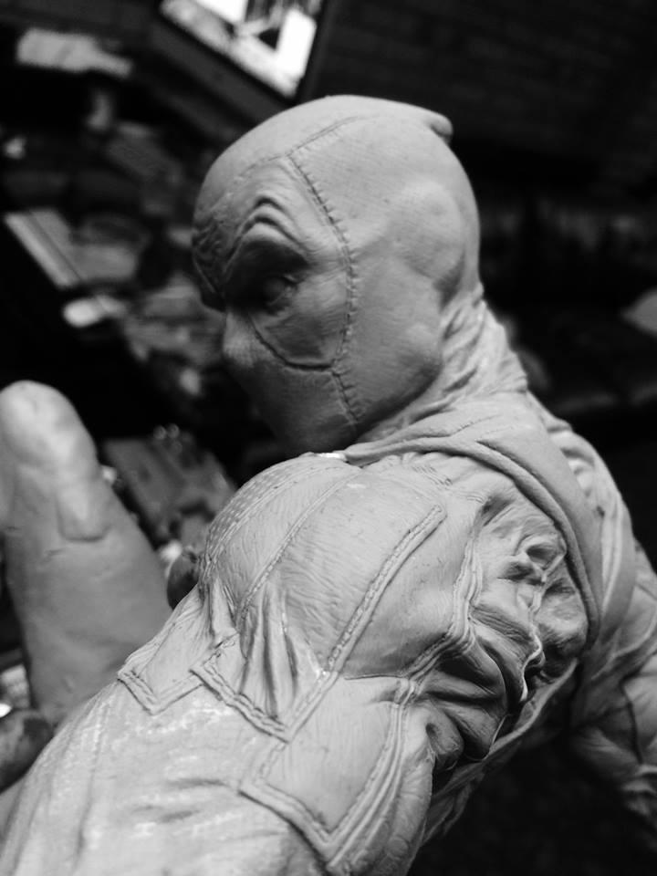 DEADPOOL  Art factory 1/4 scale statue Deadpo16