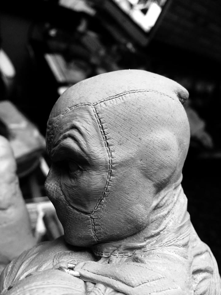 DEADPOOL  Art factory 1/4 scale statue Deadpo17