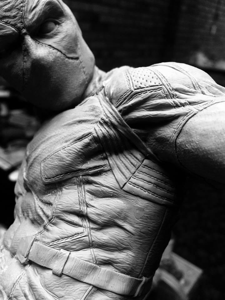 DEADPOOL  Art factory 1/4 scale statue Deadpo18