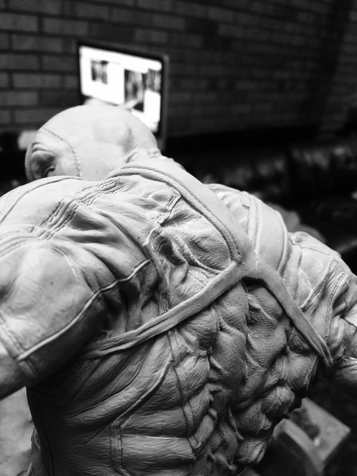 DEADPOOL  Art factory 1/4 scale statue Deadpo19