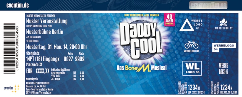 DADDY COOL - The Musical Dcm-2010