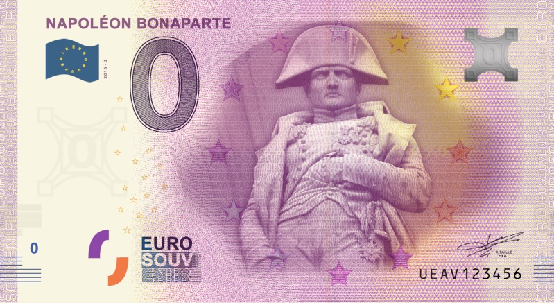 Billets 0 € Souvenirs  [Paris = 81] Bonapa10