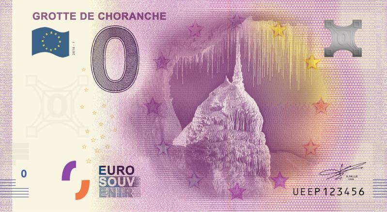 Billets 0 € Souvenirs  = 40  Choran10
