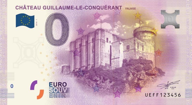 Billets 0 € Souvenirs [Normandie = 51] Falais11