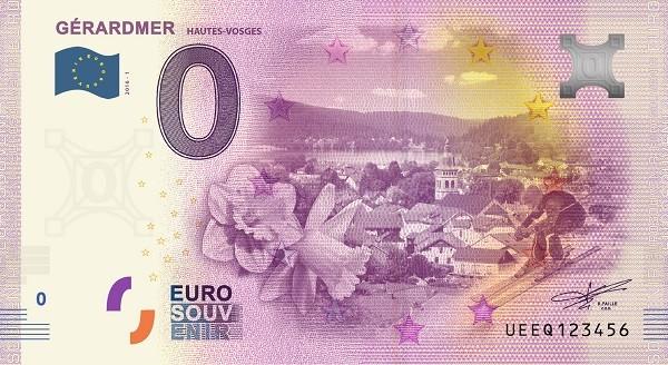 Billets 0 € Souvenirs  = 37 Gerard12