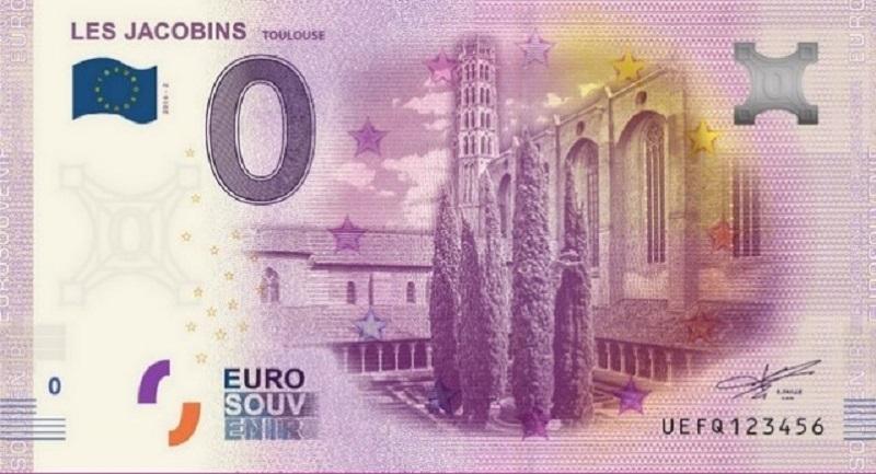 Billets 0 € Souvenirs = 80 Jacobi10