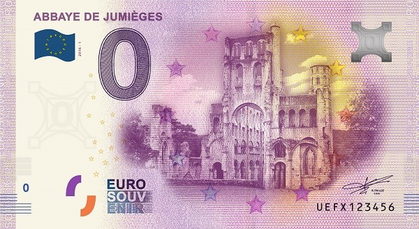 Billets 0 € Souvenirs [Normandie = 51] Jumieg10