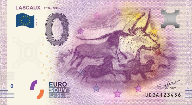 Billets 0 € Souvenirs  [Nouvelle Aquitaine = 73] Lascau11