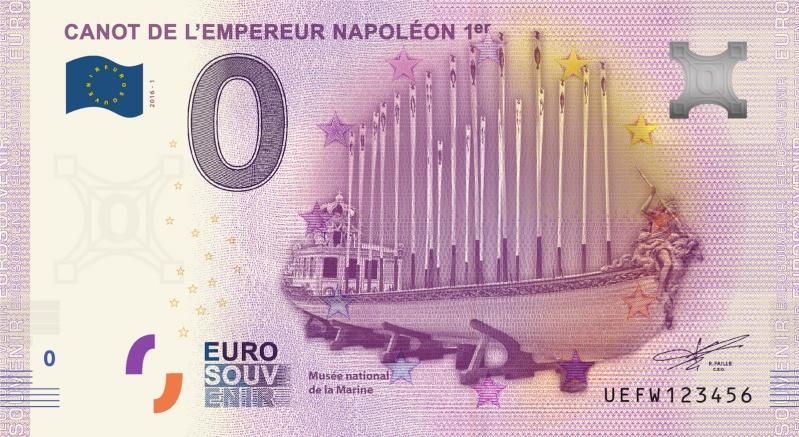 Billets 0 € Souvenirs  [Paris = 81] Marine11