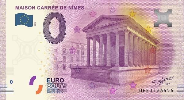 Billets 0 € Souvenirs = 80 Nimes10