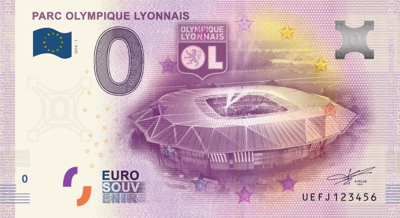 Billets 0 € Souvenirs  = 40  Ol10