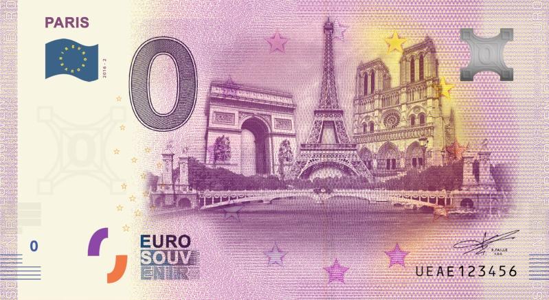 Billets 0 € Souvenirs  [Paris = 81] Parisa10