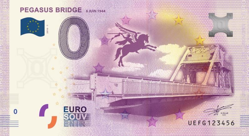 Billets 0 € Souvenirs [Normandie = 51] Pegasu10