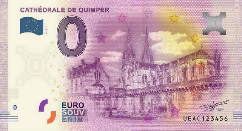 Billets 0 € Souvenirs  [Bretagne = 20] Quimpe12