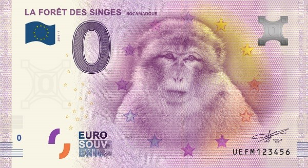 Billets 0 € Souvenirs = 80 Rocama10