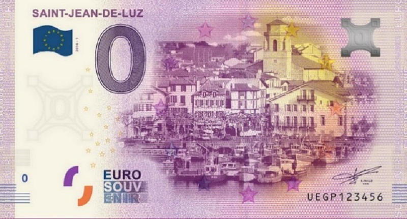 Billets 0 € Souvenirs  [Nouvelle Aquitaine = 73] St_jea10