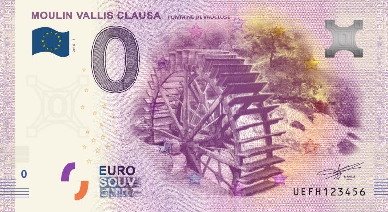 Billets 0 € Souvenirs  [SUD = 62] Vauclu10