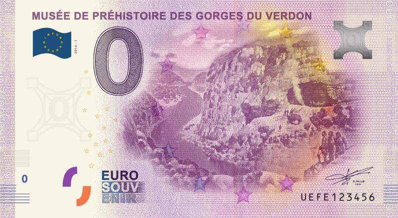 Billets 0 € Souvenirs  [SUD = 62] Verdon10