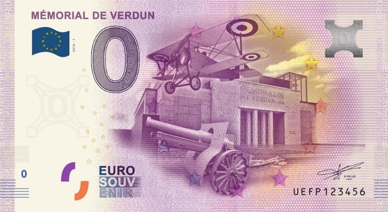 Billets 0 € Souvenirs  = 37 Verdun12
