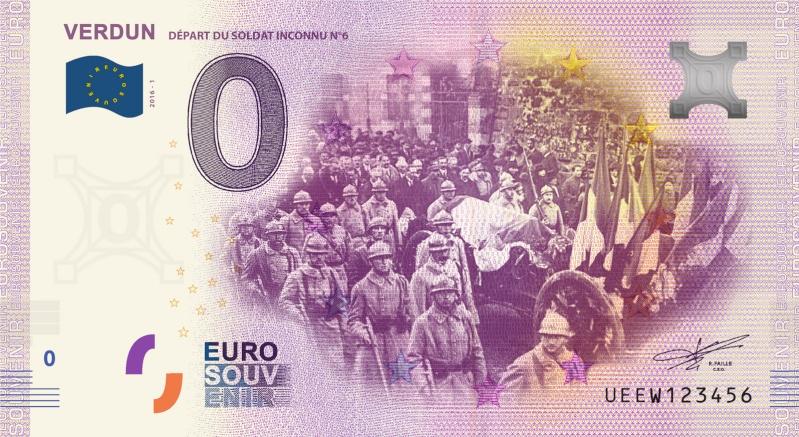 Billets 0 € Souvenirs  = 37 Verdun13
