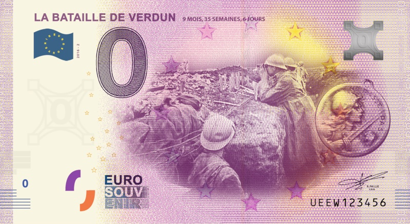 Billets 0 € Souvenirs  = 37 Verdun14