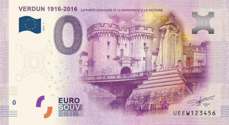 Billets 0 € Souvenirs  = 37 Verdun15