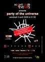[03.04.09] ZeN back as DJ @ Party Of The Universe, Paris Flyer_10