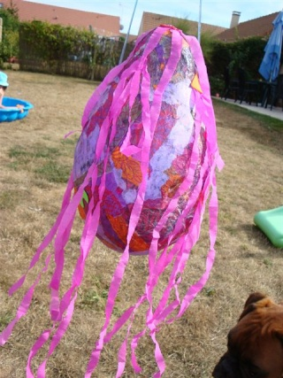 Piñata / pignata anniversaire enfant Dsc02818