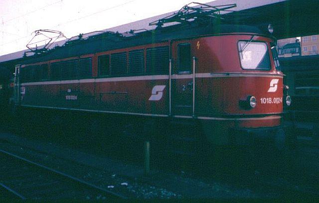 E-Lok 1018 der ÖBB 1018_010