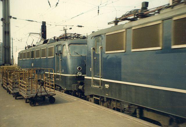 Die E-Lok Baureihe 110 / E10 der DB 110_1110