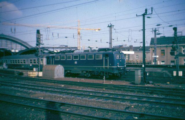 Die E-Lok Baureihe 110 / E10 der DB 110_1210