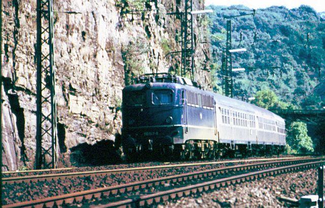 Die E-Lok Baureihe 110 / E10 der DB 110_1410