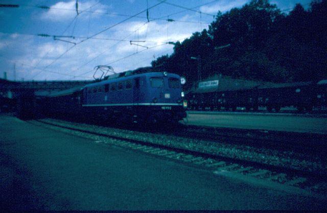 Die E-Lok Baureihe 110 / E10 der DB 110_1811