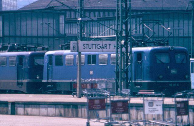 Die E-Lok Baureihe 110 / E10 der DB 110_1812