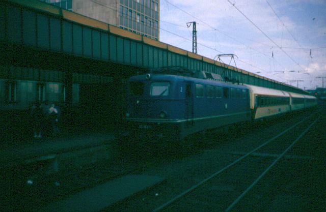 Die E-Lok Baureihe 110 / E10 der DB 110_1814