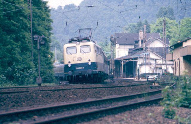 Die E-Lok Baureihe 110 / E10 der DB 110_2010