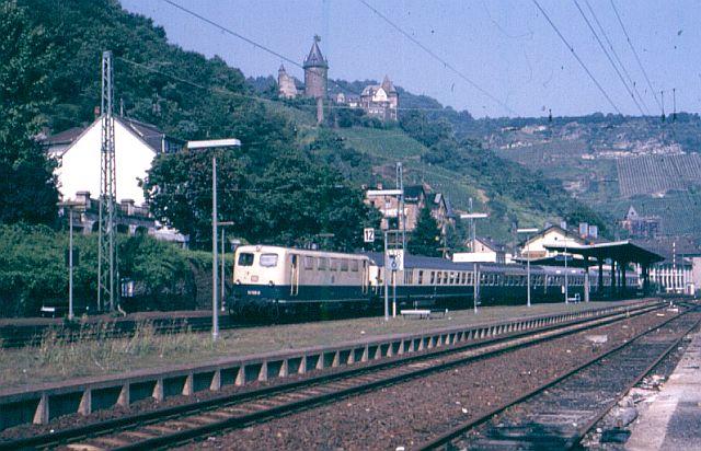 Die E-Lok Baureihe 141 / E41 der DB, der Knallfrosch 141_1010