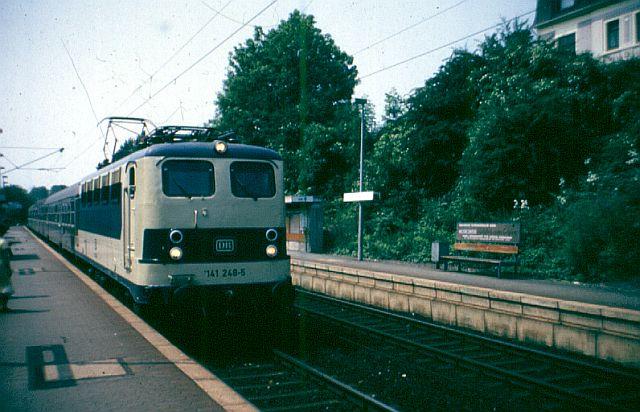 Die E-Lok Baureihe 141 / E41 der DB, der Knallfrosch 141_2410