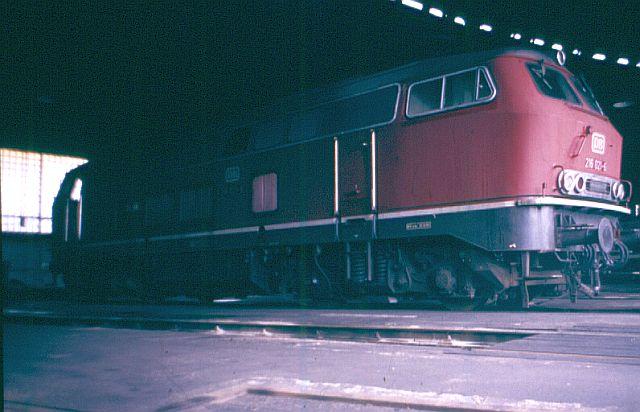 Die V160-Familie, Baureihe 210-219 der DB 216_0210