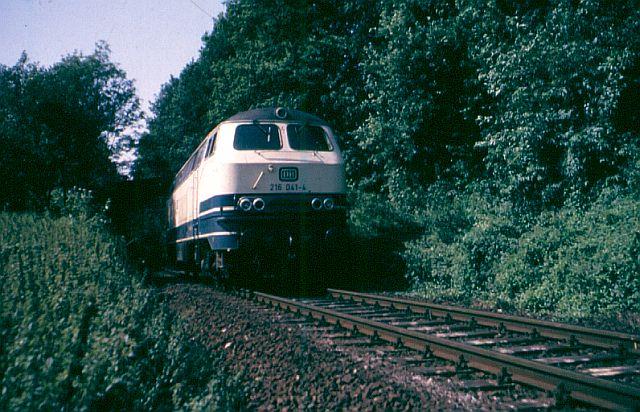 Die V160-Familie, Baureihe 210-219 der DB 216_0410