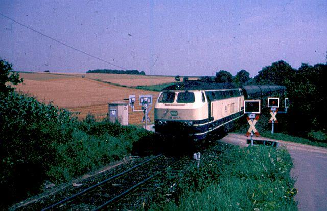 Die V160-Familie, Baureihe 210-219 der DB 216_0411