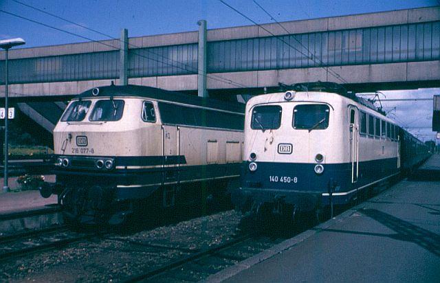 Die V160-Familie, Baureihe 210-219 der DB 216_0710