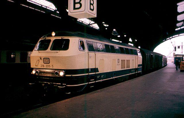 Die V160-Familie, Baureihe 210-219 der DB 216_2010
