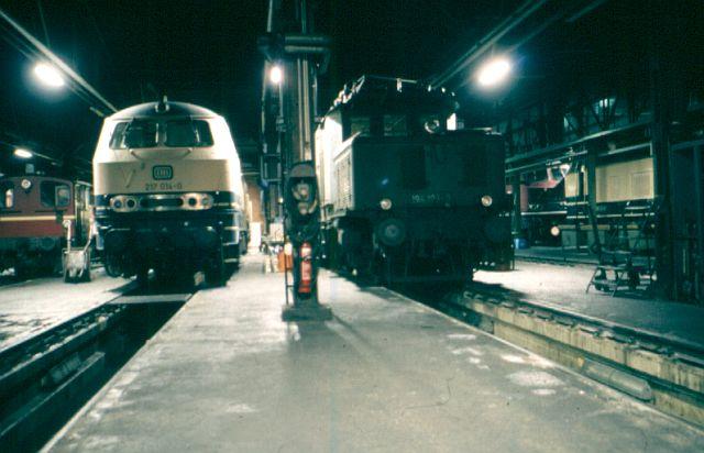 Die V160-Familie, Baureihe 210-219 der DB 217_0110