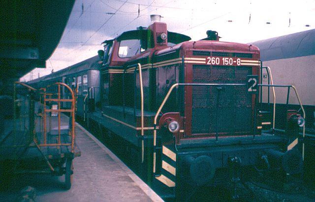 Die Baureihe V60 der DB - 260 260_1510