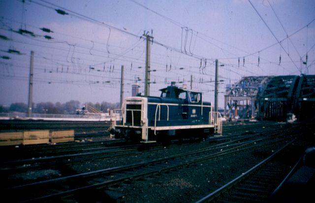 Die Baureihe V60 der DB - 260 260_6010