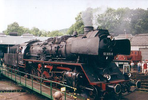 Damplok 50 3610 - 8 im Juni 2003 im Museum Dieringhausen 50_0110